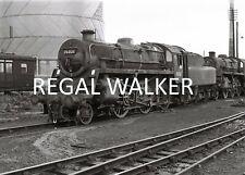 BRITISH RAIL RAILWAY STEAM PHOTO 1960'S- STANDARD 4 76021 WEST AUCKLAND SHED 63