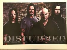 DISTURBED,MUSIC BAND AUTHENTIC LICENSED 2006  POSTER