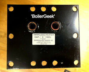 Replacement Tankless Hot Water Coil - New Yorker Boiler RECTANGULAR PLATE NYSN-5