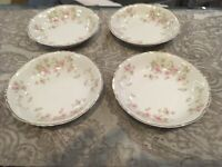 """Vintage Syracuse China Federal Shape Stansbury Set Of Four Berry Bowls Size 5"""""""