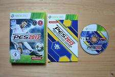 Xb360-Pro Evolution Soccer pes 2013 - (OVP, con instrucciones)