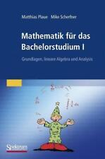 Mathematik für das Bachelorstudium I von Matthias Plaue und Mike Scherfner (2009