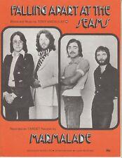 Falling Apart At The Seams - Marmalade - 1976 Sheet Music