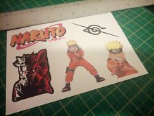 Naruto Sticker Sheet