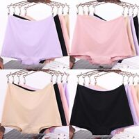 Plus Size Panties High Waist Underwear Boxer Women Pants Cotton Knickers Shorts