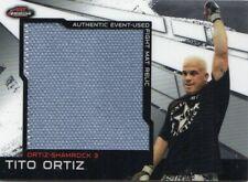2011 Finest UFC Jumbo Fight Mat Relics Card #MRTO Tito Ortiz