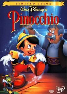 Brand New Disney DVD Pinocchio (Disney Gold Classic Collection) Limited Issue 99