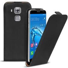 Flip Case Huawei Nova Plus Hülle Pu Leder Klapphülle Handy Tasche Cover Schwarz