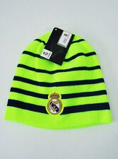 Real Madrid FC Soccer BEANIE Sports Cap Knit Hat Yellow Neon New