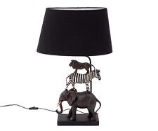 Lámpara de Mesa Dormitorio Infantil Niños Animales Safari Noche