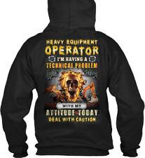Custom-made Heavy Equipment Operator Christmas Spl. - Gildan Hoodie Sweatshirt