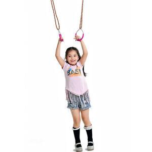 Outdoor Playground Children Fitness Sports  Handshake Iron Hanging Ring RE