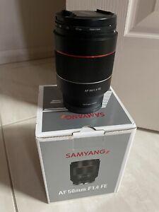 Samyang AF 50mm F1.4 FE Sony