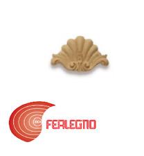 FREGIO IN PASTA DI LEGNO PER MOBILI ANTICHI 90X60MM ART.MG10902 METAL STYLE