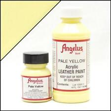 Angelus Acrylic Leather Paint Pale Yellow 4oz Colour for Shoes/Sneakers/Case/Car