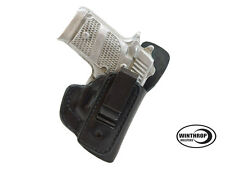 Colt 380 Mustang Pocketlite 2.75 inch IWB Shield Single Spring Clip R/H Black