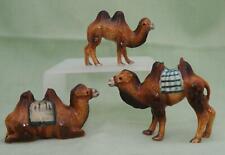 Klima Miniature Porcelain Animal Figures Bactrian Camel Family M160