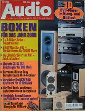 Audio 11/98 Octave HP 500 & M-100, Marantz CD 67 OSE, Sony STR-DB 925, Krell KAV