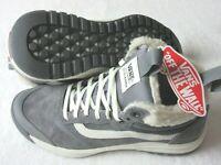 Vans Womens UltraRange Hi DI MTE Boots Sherpa Quiet Shade Grey Suede Size 7 NWT
