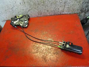 06 04 05 Scion XA drivers side left front door latch & power lock actuator