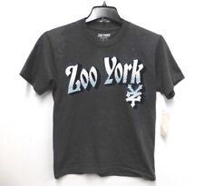Zoo York Mens Size Small Gray Crewneck Logo Tee Shirt New