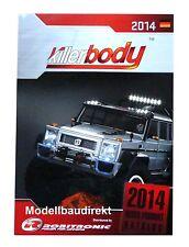 Killerbody Robitronic Katalog 2014 RC Car Karosserien und Zubehör Anbauteile