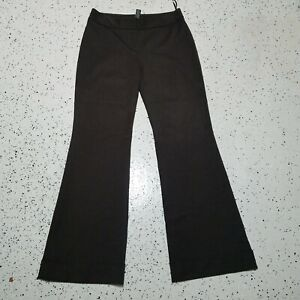 INC International Concepts Women's Dress/Career Pants ~ Sz 4 ~ Brown ~ Wide Leg