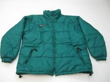 COLUMBIA Puffer Jacket Women's Size L Full Zip Green