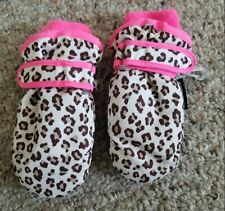 THE CHILDREN'S PLACE Waterproof Animal Print Mittens 12-24 months