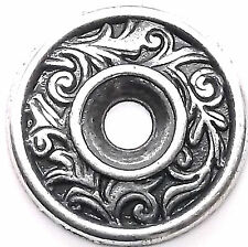 "Florentine Bezel Concho in Antique Silver 3/4"" 7785-03"