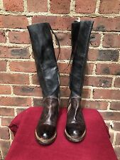 Bed Stu Manchester Women's Brown Tall Leather Boots Size 6