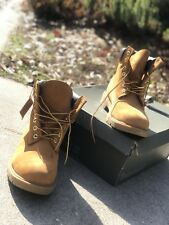 mens wheat timberland boots size 10.5