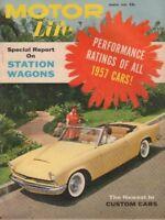 Motor Life Magazine Station Wagons & Custom Cars March 1957 022818nonr
