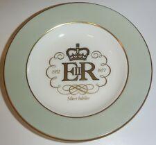 Wedgwood Royal Silver Jubilee 1952 - 1977 Commemorative Bone China 11cm Plate