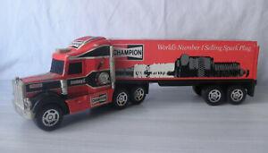 #Véhicule miniature# Buddy L - Camion Kenworth et Remorque (Champion)