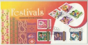Stamps Singapore 2000 festival set of 8 on official FDC, popular