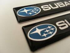 2 Pics small EMBLEM car Badge Subaru Rally BRZ Outback XV Impreza WRX LEGACY STI