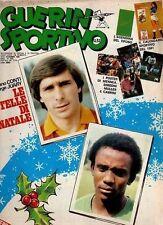 GUERIN SPORTIVO=N°51/52 1980=POSTER MENNEA-SIMEONI-CABRINI MULLER=CAL.1981=1980