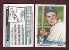 #17 GEORGE C. KELL ~ Philadelphia Athletics A's Historical Society (PAHS 1998)