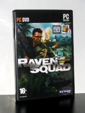 RAVEN SQUAD PC-DVD ROM WINDOWS USATO PAL ITALIANO 22311