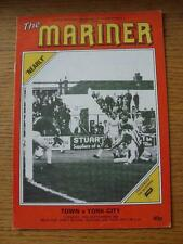 13/09/1983 Grimsby Town v York City [Football League Cup] (Creased). Item In ver