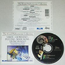 CD VERDI GIORDANO PUCCINI MASCAGNI LEONCAVALLO royal ANDREA LICATA lp mc dvd vhs