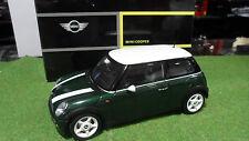 MINI COOPER Vert Green Conduite à gauche 1/18 KYOSHO 80430139277 voiture