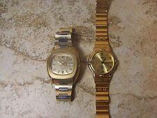 Vintage Seiko 17 Jewel Automatic 6309-5029 & Seiko Quartz Men's Watch Lot