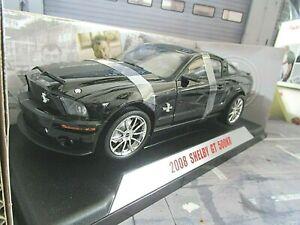 FORD Mustang GT 500 KR 500KR Shelby Super Snake V8 Knight Rider 2000 Collec 1:18