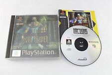 Sony PS1 Playstation Legacy of Kain Soul ECLAIREUR Pal Royaume-Uni Jeu Holographique cover