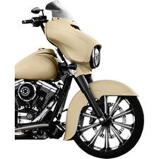 Klock Werks 8.5 Dark Smoke Windshield For 2014-2017 Harley Davidson