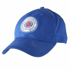 Official Licensed Football Product Rangers FC Baseball Cap Blue Crest Adult b96b2d2fddd