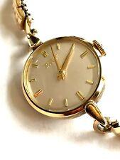 Ch. F. Tissot & Fils 15J Swiss watch works great 15 J > LADIES WRIST WATCH
