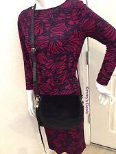 Rebecca Minkoff Suki Crossbody In Black Leather MSRP $245 Authentic Nice